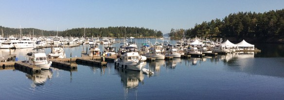 mv Archimedes morning at the grand Banks rendezvous