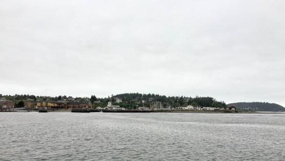mv Archimedes passing Point Hudson