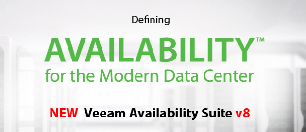 Veeam Backup and Replication v8 - What we know so far
