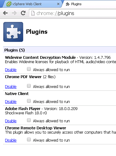 Chrome and the endless Client Integration plug-in install