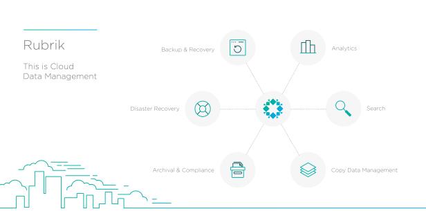 Rubrik Firefly Cloud Data Management