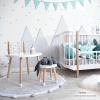 Berge für die Kinderzimmer Wand selbst bauen