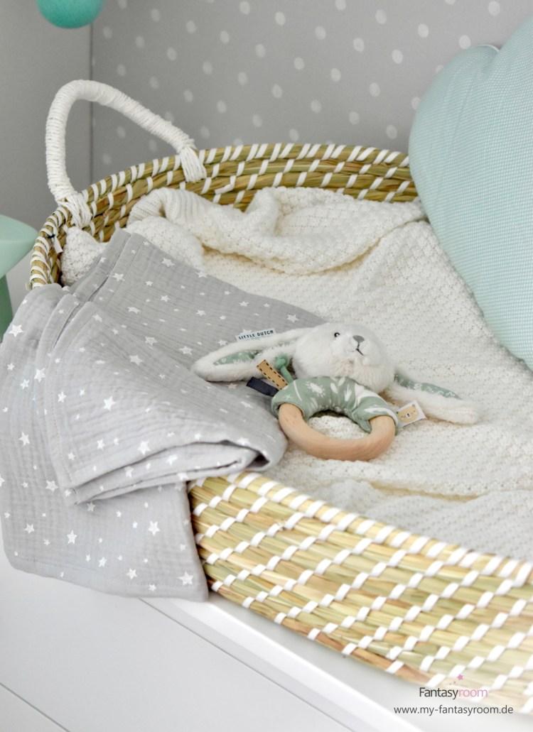 Praktischer Baby Wickelkorb statt Wickelauflage
