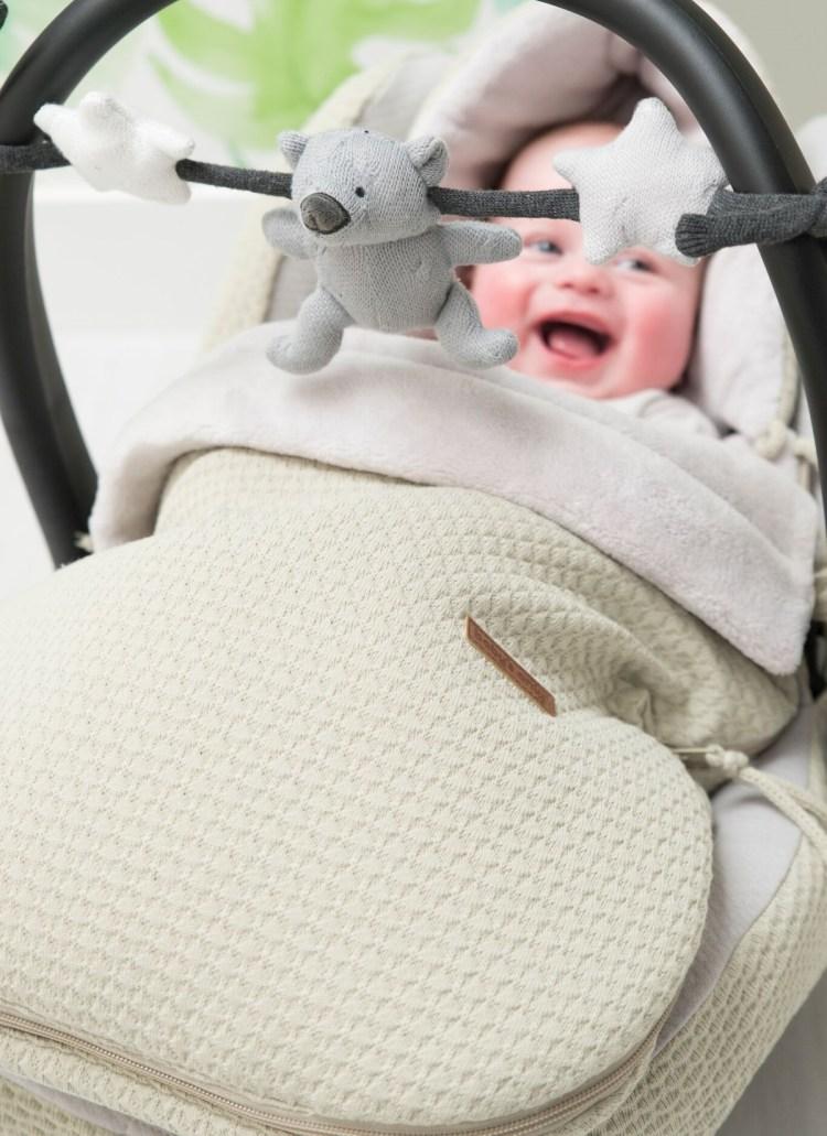 Babyschalen Fußsack von Baby´s Only 'Cloud' in Olive
