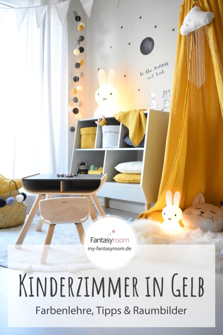 Kinderzimmer in Gelb einrichten & gestalten: Tipps, Ideen & Raumbilder