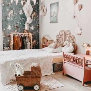 Fantasyroom Blog: Die schönsten Instagram Kinderzimmer - Vintage Mädchenzimmer