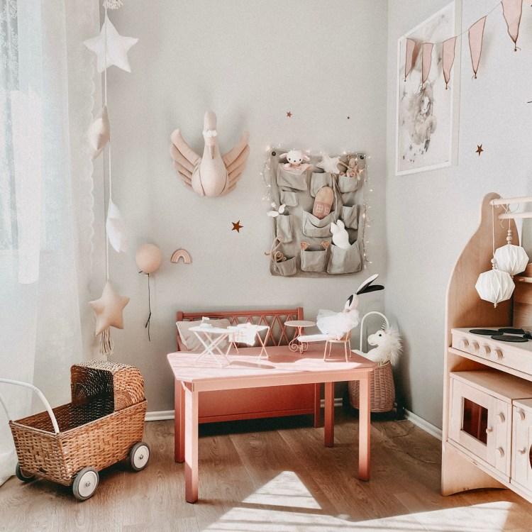 Fantasyroom Blog: Die schönsten Instagram Kinderzimmer - Spielecke im Mädchenzimmer