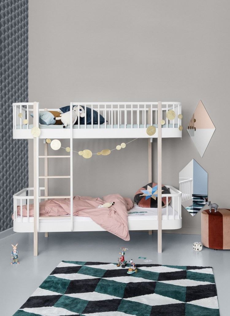 Etagenbett 'Wood' von Oliver Furniture