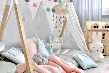 Fantasyroom Kinderzimmer für Mädchen mit Tipibett