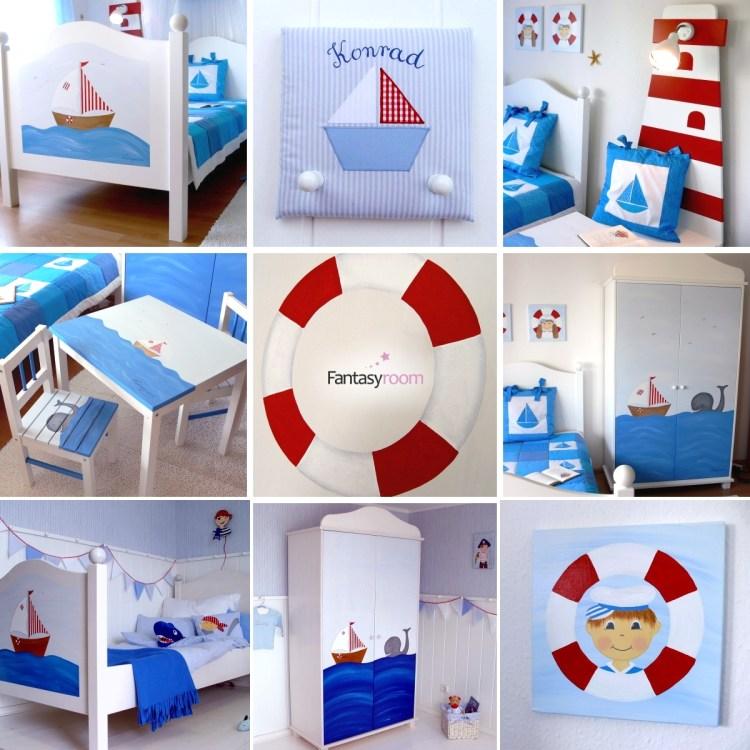 Fantasyroom Möbel mit Schiffchen