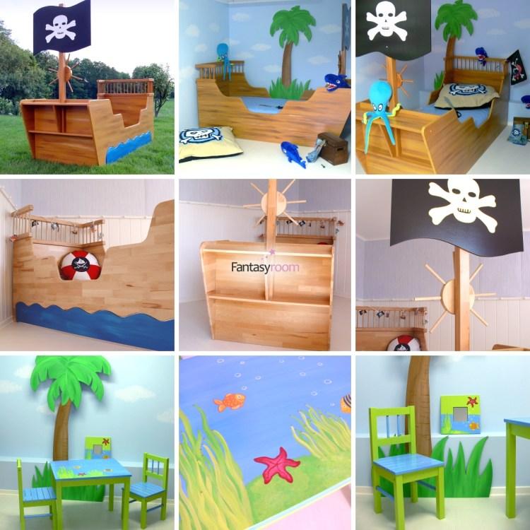 Fantasyroom Möbel Priatenschiff