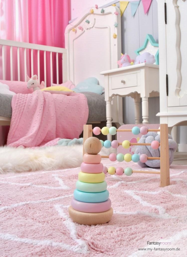 Holzspielzeug von Ciao Bambino in Pastellfarben