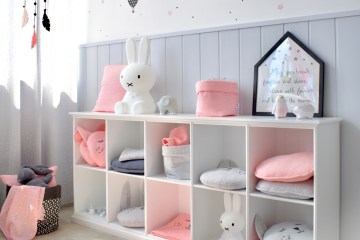 Offenes Kinderzimmer Regal von Oliver Furniture