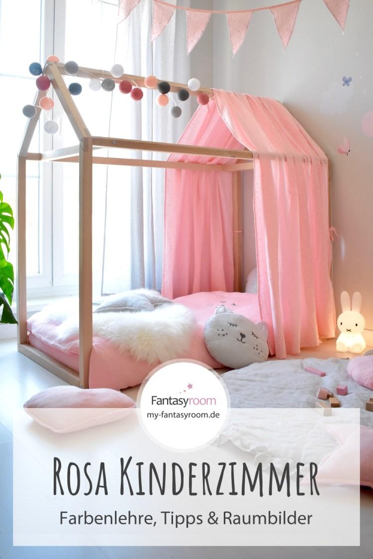 Kinderzimmer in Rosa einrichten & gestalten: Tipps, Ideen & Raumbilder