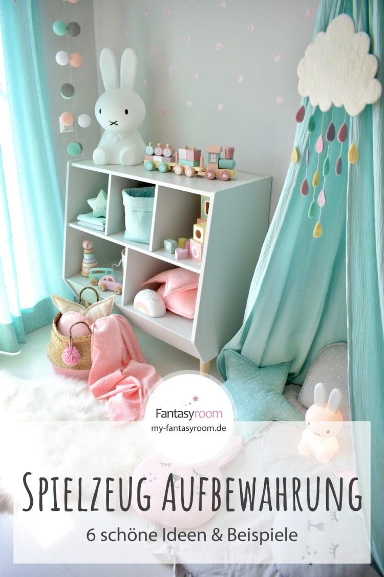 Spielzeug im Kinderzimmer aufbewahren: 6 schöne Ideen & Beispiele
