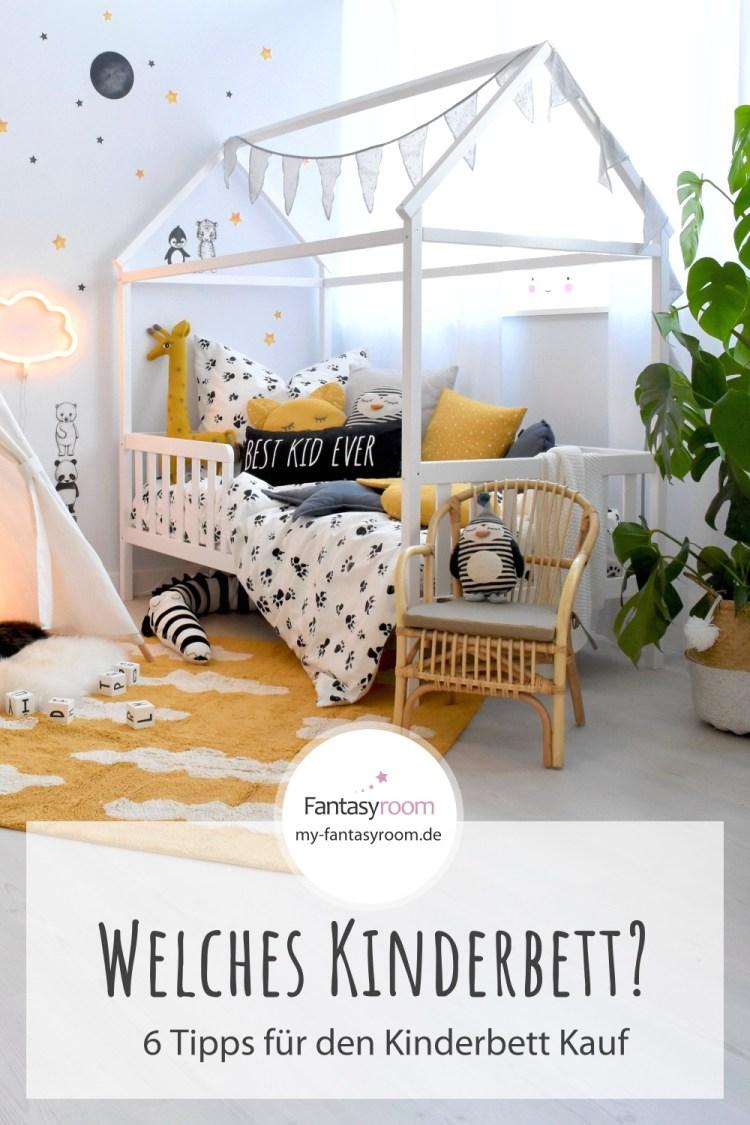 6 Tipps für den Kauf von Kinderbetten - Hausbett für Kinder