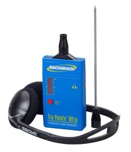 Tru Pointe Ultra Ultrasonic Leak Detector and Headphones