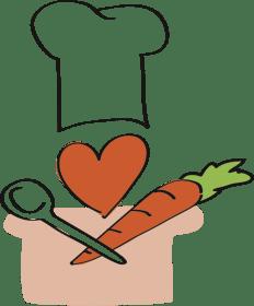 Frische Zutaten mit Liebe gekocht