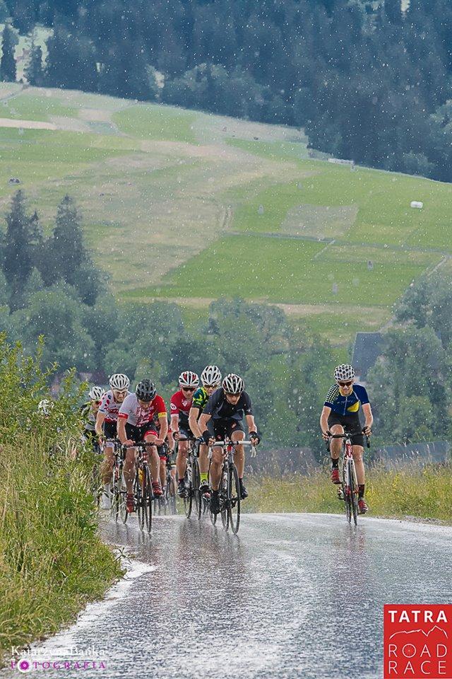 Deszcz na Tatra Road Race