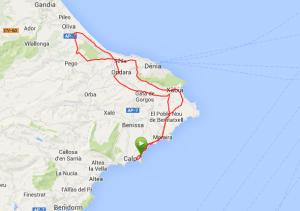 Calpe_2014_Dzien_6_Mapa