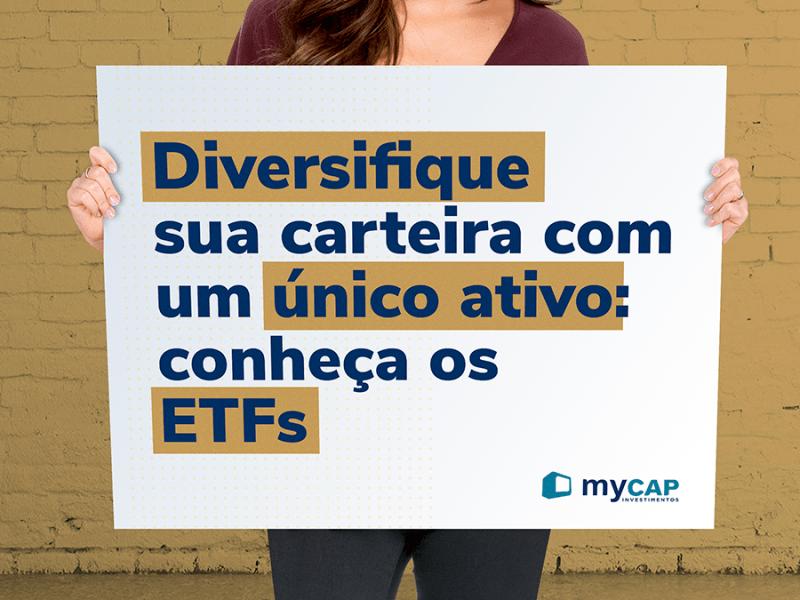 Diversifique sua carteira com um unico ativo - conheca os ETFs