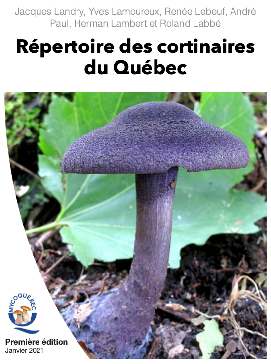 Répertoire des cortinaires du Québec.
