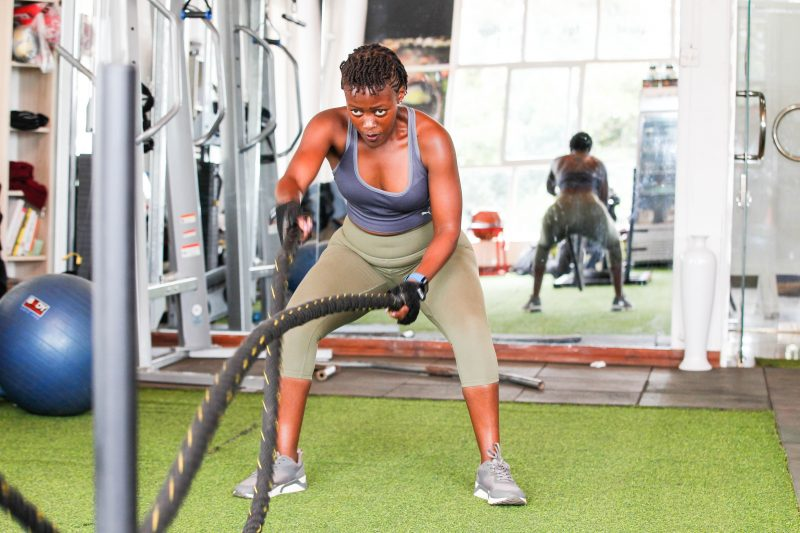 Rachel Wamwere Fitness trainer