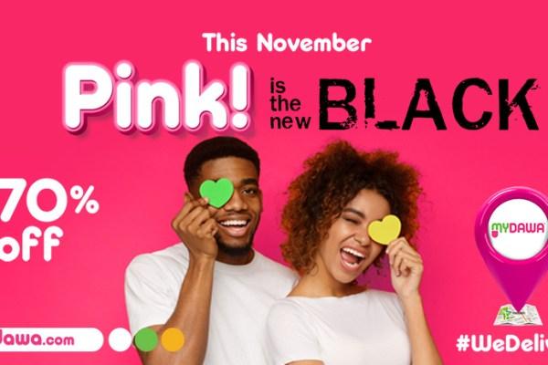 MYDAWA Pink Friday poster