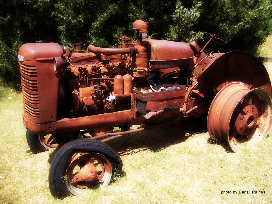 Rusted and Tireless by Danzil Raines