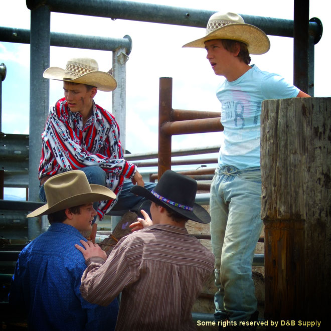 Young Bull Riders
