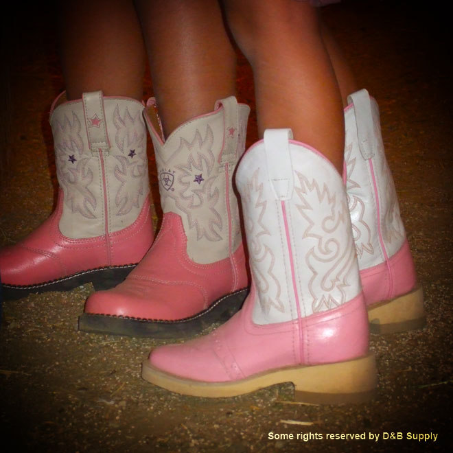 The Girl's Boots