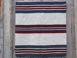 hand loomed saddle blankets by Linda Morton-Keithley