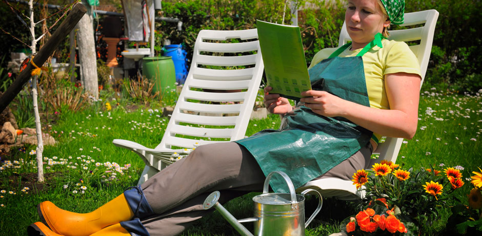 A Gardener and her journal