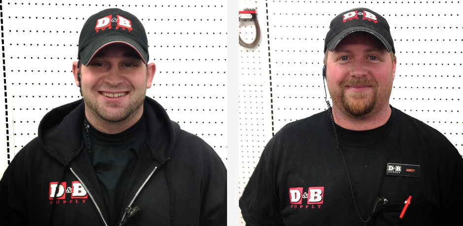 Andrew and Andy at D&B Supply