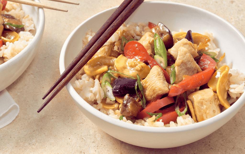 Summery Chicken Stir-Fry