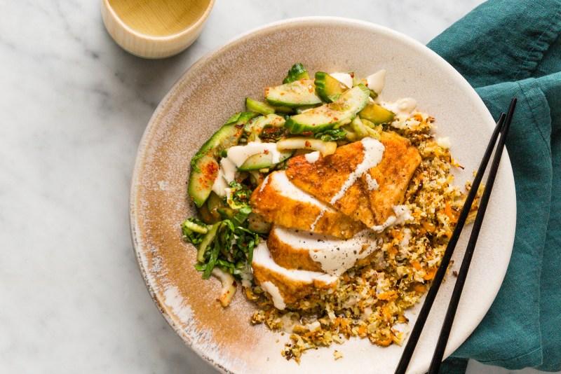 korean style chicken