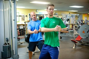 Baseball specific workout