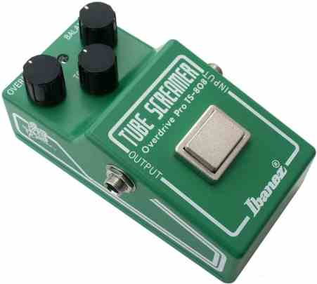 pedale guitare effet overdrive
