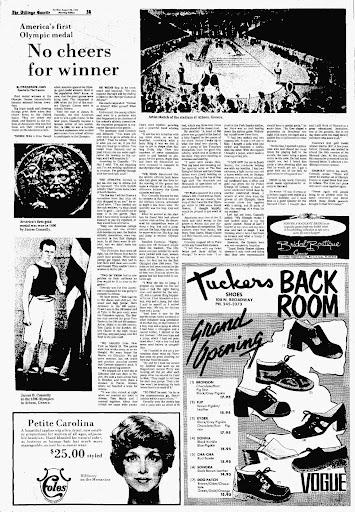 Article in the Billings Gazette, August 20, 1972