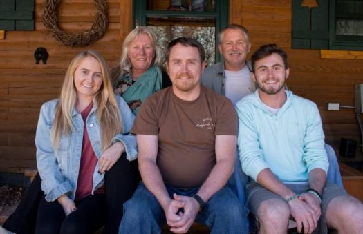 Mitch reunites with biological family in New Mexico