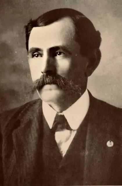 Robyn's great-grandfather, JW Barlow