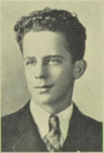 Yearbook photo of Dr. John Pierpont [Credit: MyHeritage]