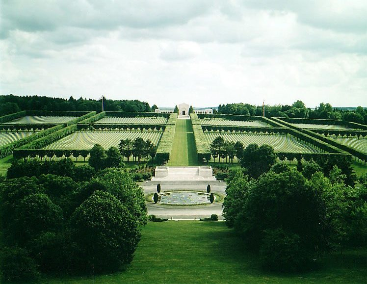 Meuse-Argonne American Cemetery, Romagne (Meuse), France [Credit: American Battle Monuments Commission]