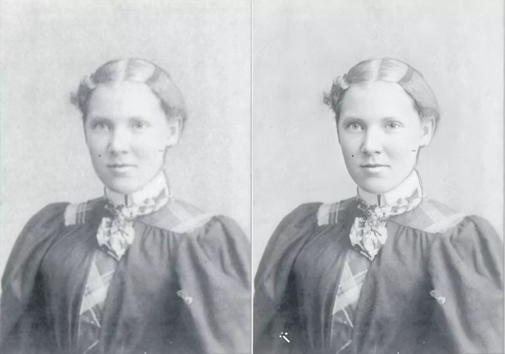 Alice Hampshire Shaw as an adult