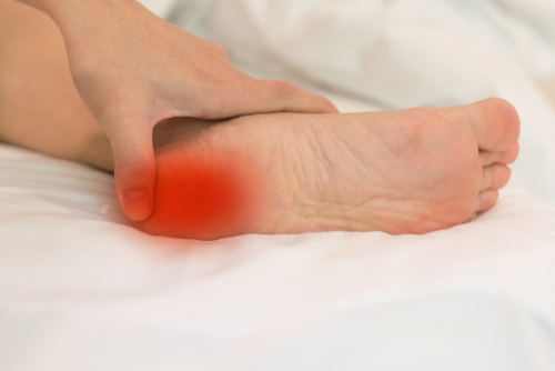 Heel pain graphic