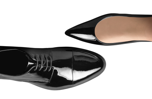 Mens and womens dress shoes