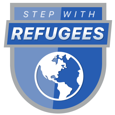 Pacer UNHCR Step With Refugees Challenge Badge