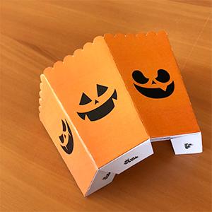 Pliage de la boîte à pop-corn halloween