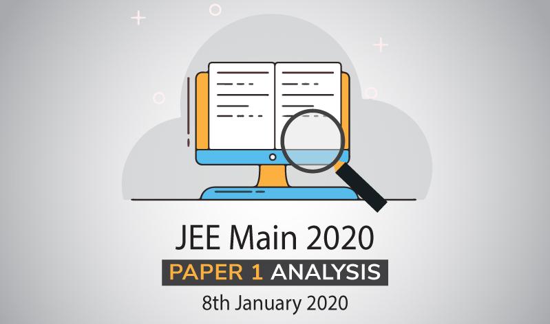 JEE Main 2020: Paper 1 Analysis, 8th January 2020