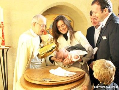Le baptême par effusion